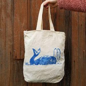Handbags - Whale graphic classic canvas tote bag